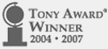 tony award winner logo
