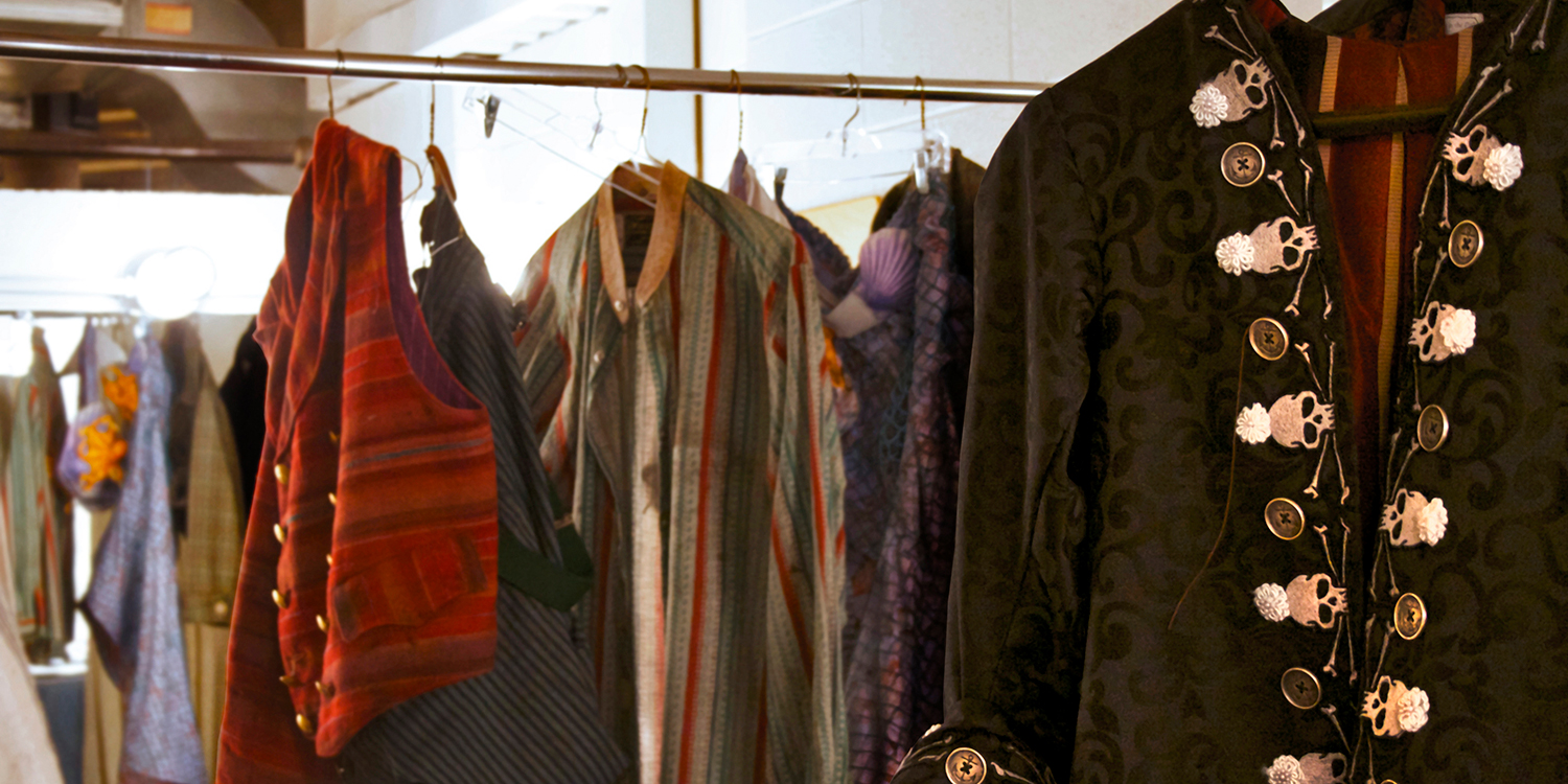 Take a walk through the dressing rooms used by professional actors during each Playhouse show.